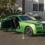 Ngắm xe siêu sang Rolls-Royce Wraith xanh cốm bản độc