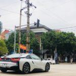 Bộ 3 xe Porsche 911, BMW i8 và Panamera xuất hiện cùng lúc ở Hà Nội