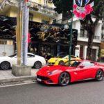 Dàn siêu xe cuối tuần trên phố Sài Gòn đầu năm 2018