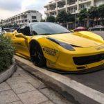 Gặp siêu xe Ferrari độ Liberty Walk Full trên phố Sài Gòn