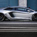 Lamborghini Aventador S độ thân rộng bởi Liberty Walk