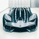 Ngắm siêu xe tương lai Lamborghini Terzo Millennio