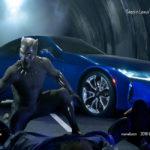 "Lexus LC500 trong phim bom tấn ""Black Panther"" 2018"