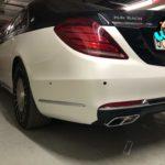 Đại gia trẻ tuổi Sài Gòn độ Mercedes S400 thành Maybach 2 màu sơn cực chất ?