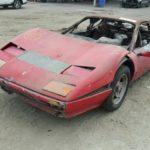 Siêu xe Ferrari 512 BB cháy nhìn như sắt vụn giá bán lại tiền tỷ