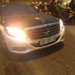 Mercedes S400 độ thành Maybach tái xuất ấn tượng trên phố Hà Nội