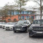 Dàn xe khủng của đại gia Hà Nội, Sài Gòn về thăm Ninh Bình đầu năm 2018