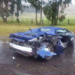 Vài siêu xe gặp tai nạn liên hoàn cùng lúc