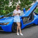 Chân dài xinh đẹp và duy nhất của hành trình Car & Passion 2018