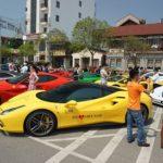 Nhiều người mãn nhãn ngắm dàn siêu xe khủng lên Lào Cai