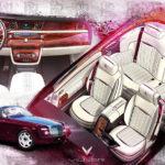 Xe siêu sang Rolls royce Phantom mui trần bản quyến rũ