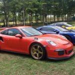 Dàn siêu xe của đại gia Sài Gòn về Đồng Nai chơi