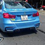 Xe hiệu suất cao BMW M3 màu đẹp ở Sài Gòn