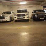 Hầm xe siêu sang của đại gia Hà Nội và Sài Gòn