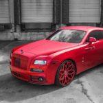Rolls-Royce Wraith nhìn siêu xấu khi độ toàn màu đỏ bởi Mansory