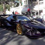 Dàn siêu xe của thiếu gia, tiểu thư ở Monaco trình diễn ngoài phố