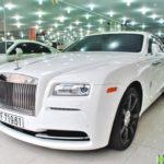 Đại gia cà phê bán xe siêu sang Rolls royce Wraith