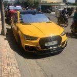 Audi A4 và Mercedes CLA 45 AMG độ cực thể thao ở Nha Trang