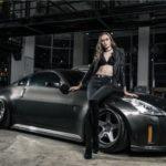 Người đẹp bí ẩn bên Nissan 350Z