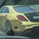 Mercedes S63 AMG và Audi độ chrome vàng trên phố Việt