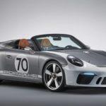 Siêu xe Porsche 911 Speedster Concept lộ ảnh rõ nét