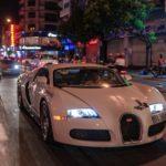 Bugatti Veyron cùng Ferrari 458 italia speciale trong đêm ở Sài Gòn