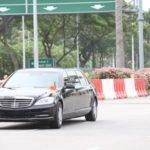Dàn xe siêu sang hùng hậu tháp tùng ông Kim Jong un ở Singapore