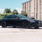 Lexus LS500 2018 độ đen bóng cực ngầu