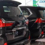 Ngắm vài xe sang Lexus LX570 Super sport giá 9 tỷ về Hà Nội liền lúc