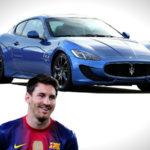 Lionel Messi mới là cầu thủ chơi siêu xe hàng đầu thế giới