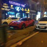 Vài xe sang ban đêm trên phố Hà Nội 2018