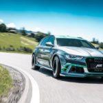 Xe sedan siêu sang Audi RS6-E Hybrid độ 1000 mã lực bởi ABT