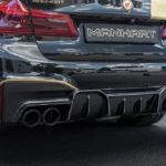 Siêu xe BMW M5 độ 713 mã lực bởi Manhart