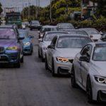 Dàn xe sang BMW của đại gia Sài Gòn tụ tập trên phố