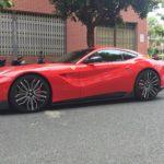 Chi tiết Ferrari F12 độ vành độc của đại gia Sài Gòn