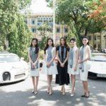 5 Á hậu sinh đẹp đi siêu xe tặng sách cho sinh viên ở Đà Nẵng