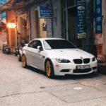 Xe sang BMW 3 series mui trần độ mâm hầm hố ở Hải Phòng