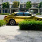 Mercedes S500 độ như xe của đại gia Dubai ở Hà Nội