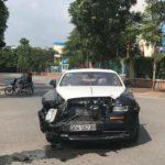 Rolls royce Wraith giá 22 tỷ bị tai nạn báo giá sửa 3 tỷ đồng