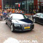 Audi A8 Limousine siêu sang của hoàng tử Hà Lan Koning Willem-Alexander