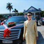 Dàn xe Cadillac và bán tải tổng giá 25 tỷ đồng trong ăn hỏi ở Quảng Ninh