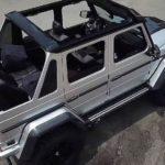Siêu phẩm Mercedes G500 độ mui trần duy nhất