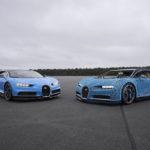 Siêu xe Bugatti Chiron đồ chơi to như thật và chạy được