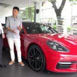 Choáng giá Option xe Porsche Panamera bản thấp nhất