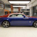 Rolls-Royce Wraith với màu sơn xanh nâu độc nhất thế giới