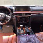 Nội thất xe siêu sang Lexus LX570 Supersport giá 10 tỷ ở Việt Nam