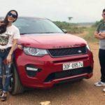Nữ Blogger An Xinh Trương tậu Land rover Discovery sport Dynamic 4 tỷ đồng
