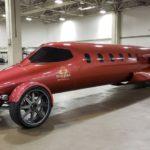 Xe siêu sang Limo-Jet tạo ra từ máy bay cá nhân