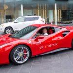 Siêu xe Ferarri giá 14 tỷ của Tuấn Hưng tai nạn khiến nhiều người xót