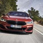Ảnh siêu xe BMW M850 xdrive chạy ngoài đường